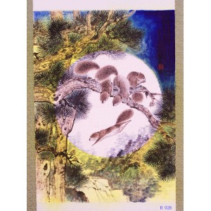花鸟、动物